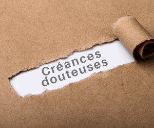 créances douteuses
