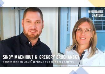 Réforme du code des sociétés et des associations : un webinaire organisé par la l fiduciaire Equity et la fiduciaire Maenhout.